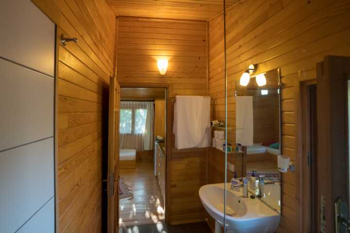 Bathroom of the bungalow
