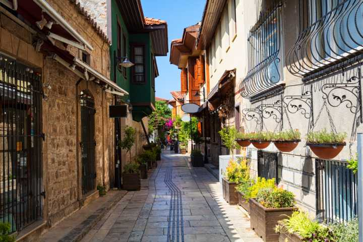 Old town Kaleici in Antalya